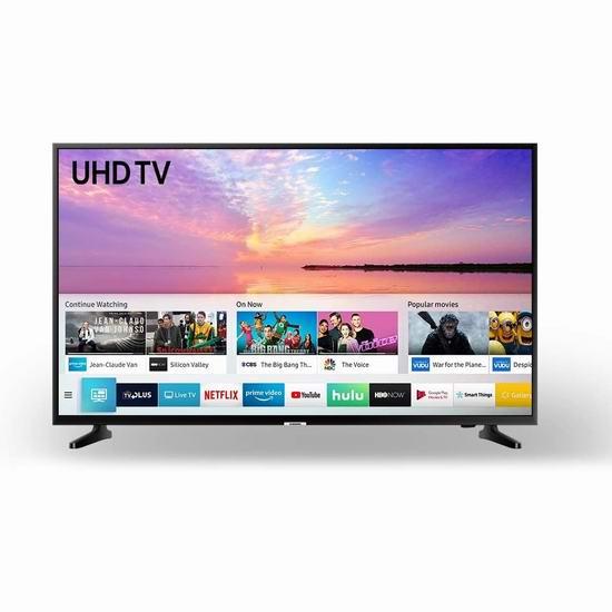 历史新低!Samsung 三星 UN43NU6900FXZC 43英寸 4K超高清 智能电视5.5折 330.98加元包邮!