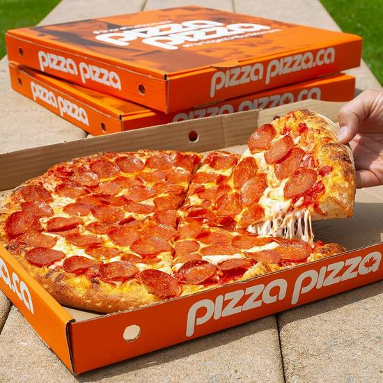 Pizza Pizza披萨全场5折,仅限10月8日(本周四)!