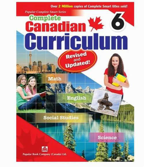 精选 Kumon、Complete Canadian Curriculum、Summer Brain Quest等各年级课外练习册 7.5折 8.21加元起