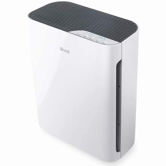 LEVOIT H13 True HEPA 家用空气净化器 8折 159.99加元特卖并包邮!