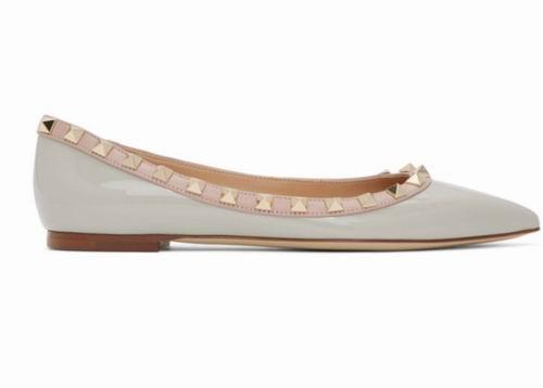 精选Valentino铆钉鞋、大V Logo T恤、小白鞋 5.6折起,封面款694加元