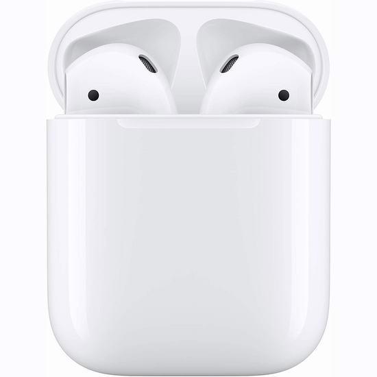 Apple Airpods 苹果第二代蓝牙无线耳机 159.98加元包邮!