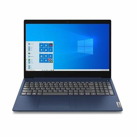 好价!Lenovo 联想 IdeaPad 3 15.6寸笔记本电脑(8GB, 256GB SSD)679.99加元包邮!