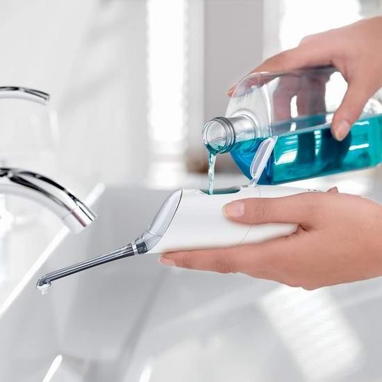 Philips 飞利浦 Sonicare Airfloss Pro HX8331/01 微爆气流技术喷气式洁牙器/齿间清洁喷嘴/水牙线 8折 79.95加元包邮!