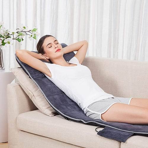 Snailax SL363M 躺坐靠 多功能记忆泡沫加热全身按摩垫 124.99加元,原价 136.99加元,包邮
