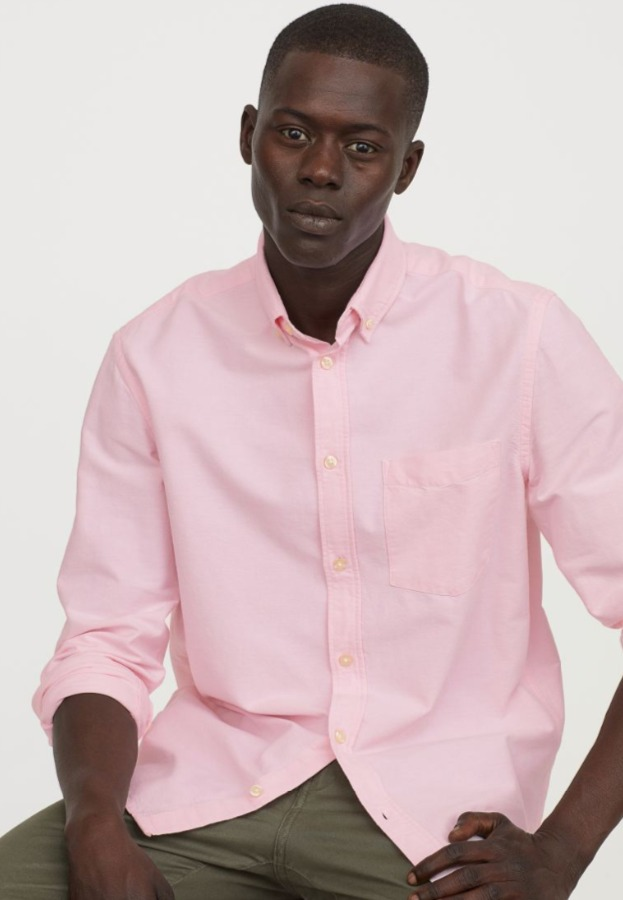 H&M折扣区男士衬衣、T恤、短裤、牛仔裤 3折 5.99加元起!