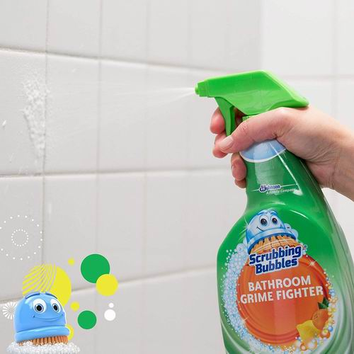 Scrubbing Bubbles 浴室泡沫清洁喷雾 柑橘香946毫升 4.79加元,让家务劳动变得更轻松