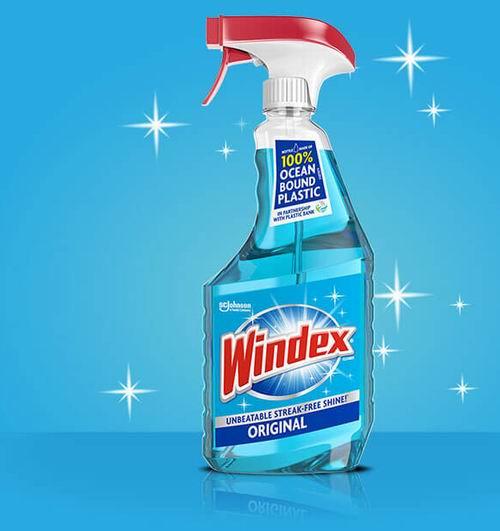 Windex 玻璃清洁剂 765毫升 3.8加元