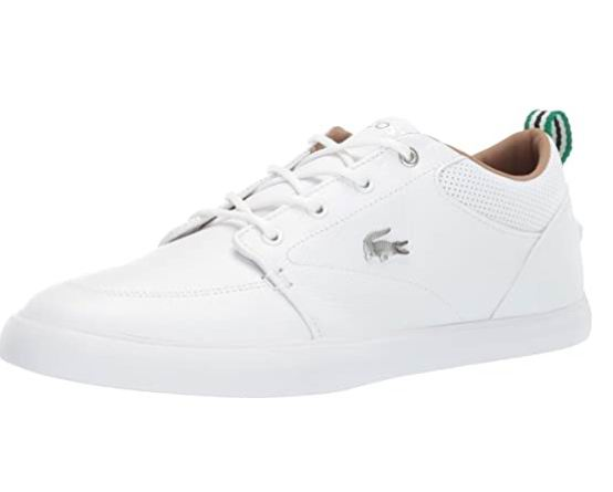 Lacoste 男士 Bayliss小白鞋 64.54加元起(7/7.5/8.5/9.5码),原价 137.21加元,包邮