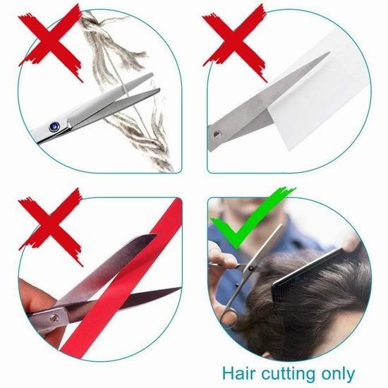 Beyond 专业美发 打薄碎发 不锈钢理发剪刀2件套5.5折 18.6加元!