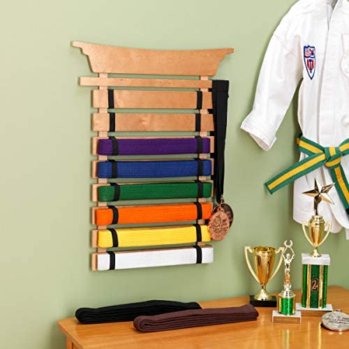 kidkraft 木质武术/跆拳道腰带收纳架 5.7折 34.99加元,原价 60.99加元