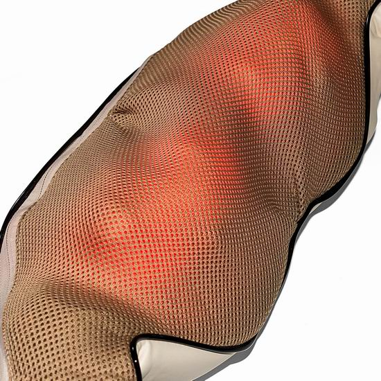 Nekteck 红外加热 3D揉捏 肩颈按摩披肩4.2折 37.39加元包邮!