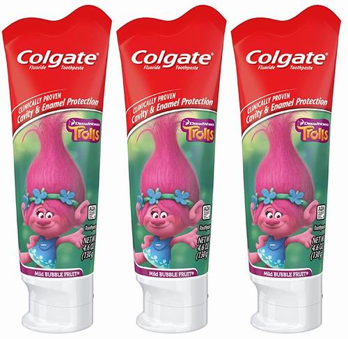 Colgate高露洁 可吞咽 儿童牙膏 75毫升 1.99加元