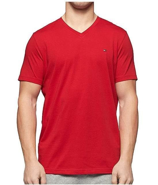 Tommy Hilfiger 男士V领T恤 14.72加元,原价 20.44加元