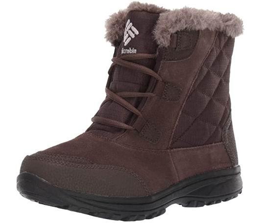 Columbia 女士 ICE Maiden雪地靴 53.43-65.5加元(5-5.5码),原价 119.05加元,包邮