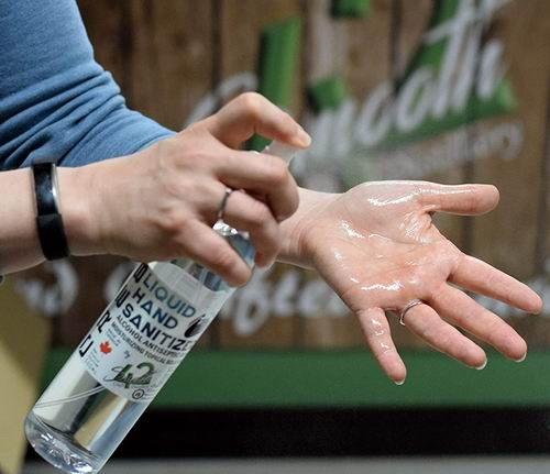 CRE8 含80%酒精洗手喷雾 500毫升 14.99加元
