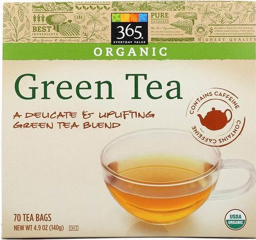 365 Everyday Value有机绿茶、红茶 4.99加元