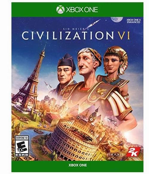 Sid Meiers Civilization Vl《席德·梅尔的文明®VI》游戏 39.99加元,原价 79.96加元,包邮