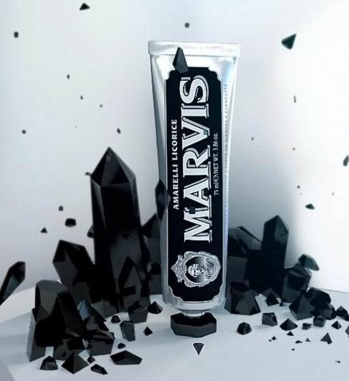 意大利顶级牙膏品牌!Marvis Amarelli甘草薄荷牙膏 75毫升 10加元