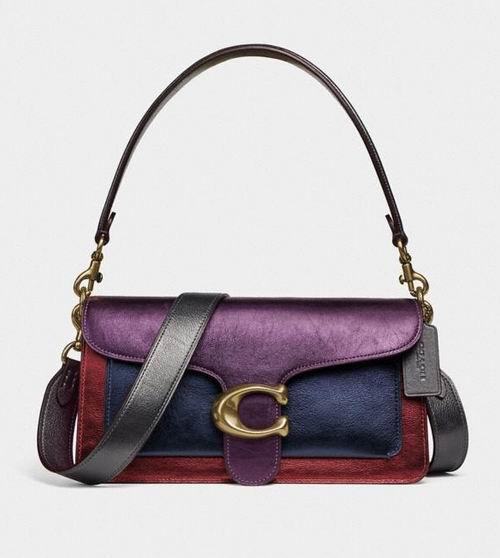手慢无! Coach Tabby Shoulder Bag 26拼色腋下包 212.5加元,原价 405加元,包邮