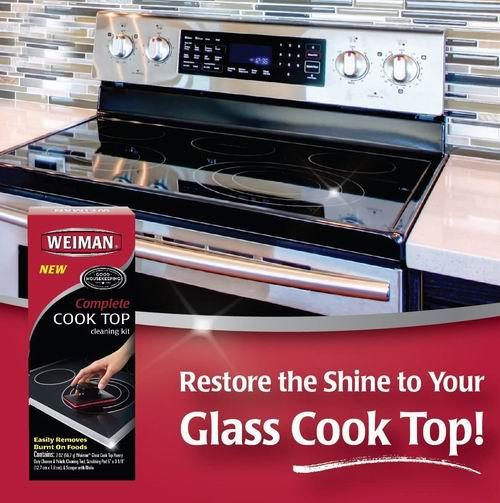 清洁神器!Weiman Complete 钢化玻璃清洁套件 油污不留痕 9.99加元