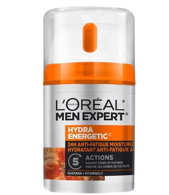 L'Oréal Paris专业男士保湿活力抗疲劳乳液 50毫升 9.86加元,原价 12.97加元