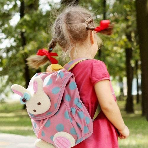 labebe 超可爱宝宝防丢链粉红兔零食双肩包包 21.99加元,原价 27.99加元