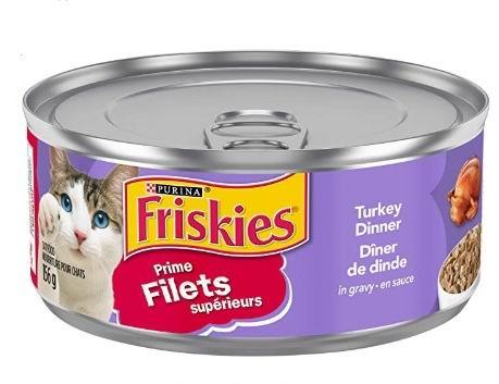 Friskies 猫罐头/猫干粮 0.6加元