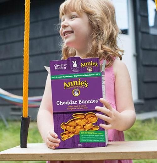 Annie's Homegrown 兔子形小饼干、通心粉 1.98加元起
