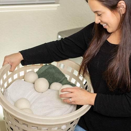 Ecoigy 衣物烘干 纯天然羊毛球6件套5.8折 14.47加元!