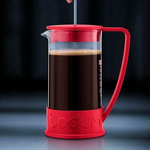 Bodum Brazil 1升(8杯量) 法式压滤咖啡壶 24.19-24.37加元!2色可选!