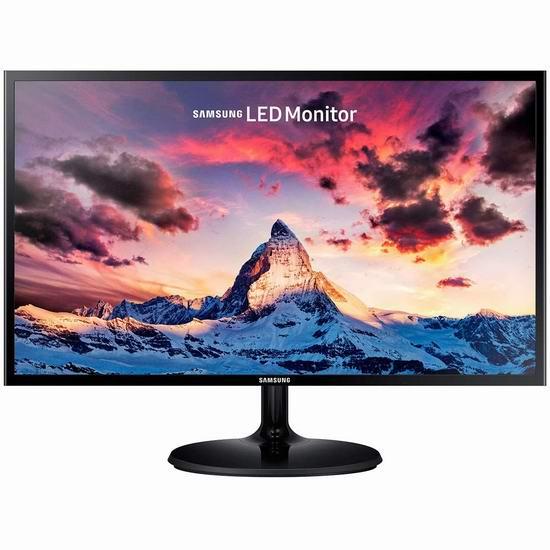 手慢无!历史新低!Samsung 三星 LS27F350FHNXZA 27英寸LED护眼显示器5.9折 147.99加元包邮!