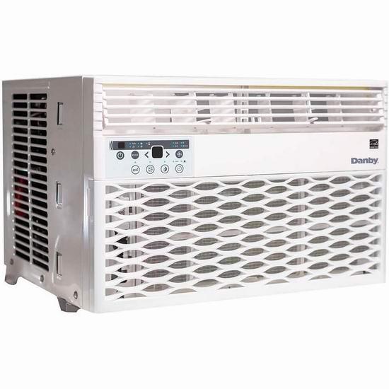 历史最低价!Danby DAC060EB6WDB 6, 000 BTU 窗式制冷空调 229.99加元包邮!