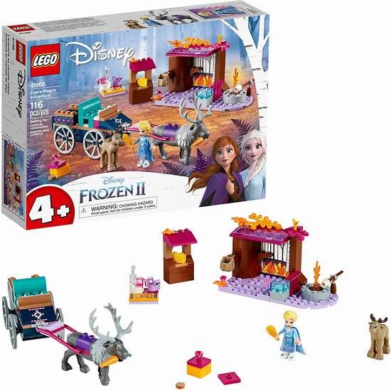 历史新低!LEGO 乐高 41166 冰雪奇缘 艾莎的马车大冒险(116pcs)7折 27.99加元!