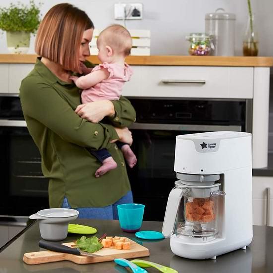 白菜价!历史新低!Tommee Tippee 汤美天地 Quick Cook 多功能婴幼儿辅食料理机2.9折 49.98加元包邮!