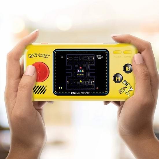 历史新低!BIONIK Pac-Man 吃豆人 复古掌上游戏机5.4折 26.95加元!