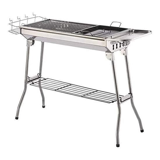 ISUMER 不锈钢 中式碳烧BBQ烧烤炉 97.99加元包邮!