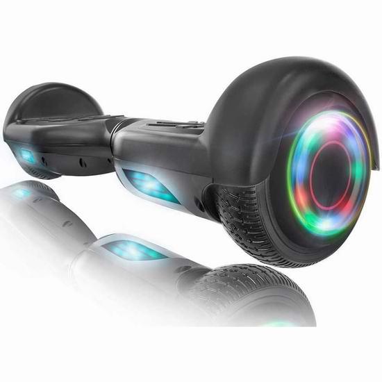 销量冠军!XPRIT 蓝牙智能体感平衡车 209.95加元包邮!3色可选!