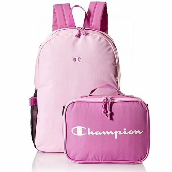 Champion 儿童双肩背包/书包+午餐包 17.47加元!