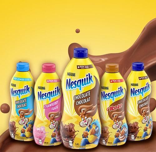 Nesquik 雀巢 含铁速溶营养巧克力糖浆 700毫升 2.85加元,原价 4.77加元