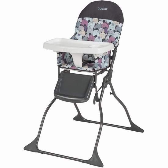 Cosco Simple Fold 可折叠婴幼儿高脚餐椅 59.97加元包邮!