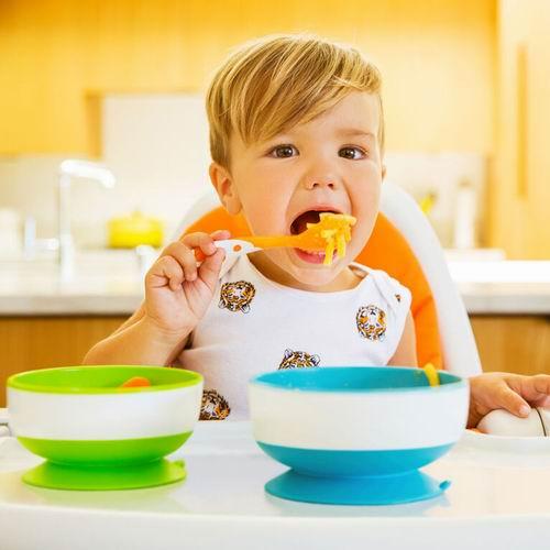 Munchkin 麦肯奇 宝宝吸盘碗/不含BPA辅食碗3件套 8.97加元,原价 11.99加元
