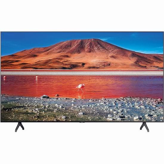 历史新低!Samsung 三星 TU7000 4K超高清 HDR 55英寸智能电视 548加元包邮!