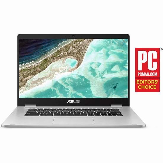 历史最低价!Asus 华硕 Chromebook C523NA-DH02 15.6英寸 窄边框 笔记本电脑 249加元包邮!