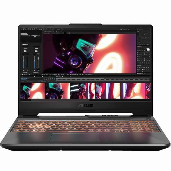 历史新低!Asus 华硕 TUF506IV-AS76 TUF 军标加固 15.6英寸 144Hz 游戏笔记本电脑(GeForce RTX 2060, 16GB, 1TB SSD) 1499加元包邮!