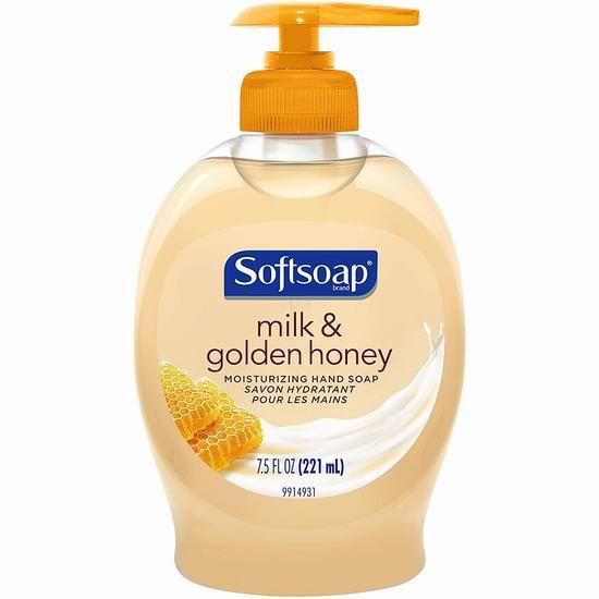 历史新低!Softsoap 牛奶蜂蜜 洗手液(221ml)1加元!