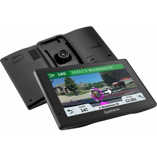 历史新低!Garmin 佳明 Drive Assist 51 NA LMT-S 安全守护智能提醒 5英寸GPS卫星导航仪+行车记录仪5折 199.99加元包邮!含终身地图、实时交通信息!