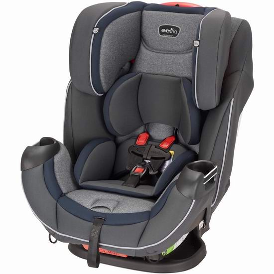历史新低!Evenflo Symphony DLX 成长型儿童安全座椅5.5折 163.79加元包邮!