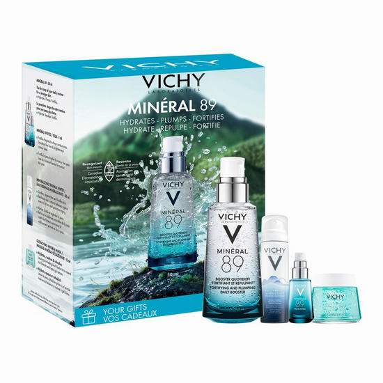 抢!Vichy 薇姿赋能89号微精华露 /火山能量瓶超值装(价值60加元)购2套单价变相19.5加元+送价值15加元焕活晚霜!