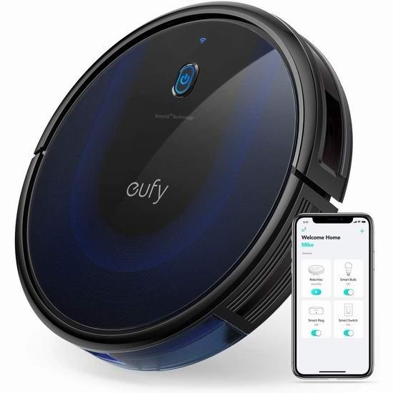 金盒头条:历史新低!eufy by Anker BoostIQ RoboVac 15C MAX 2000Pa超强吸力 WiFi智能扫地机器人 244.99加元包邮!